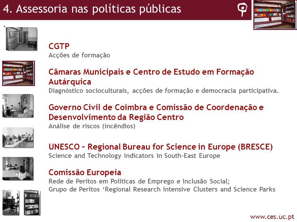 4. Assessoria nas políticas públicas