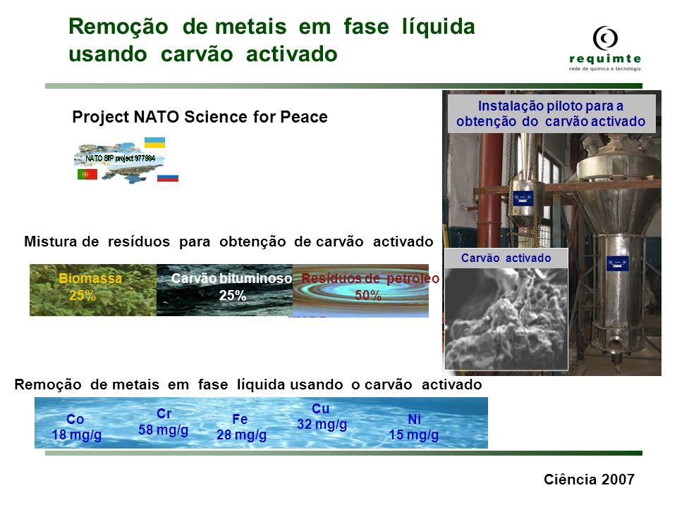 Biomassa Carvão bituminoso Resíduos de petróleo