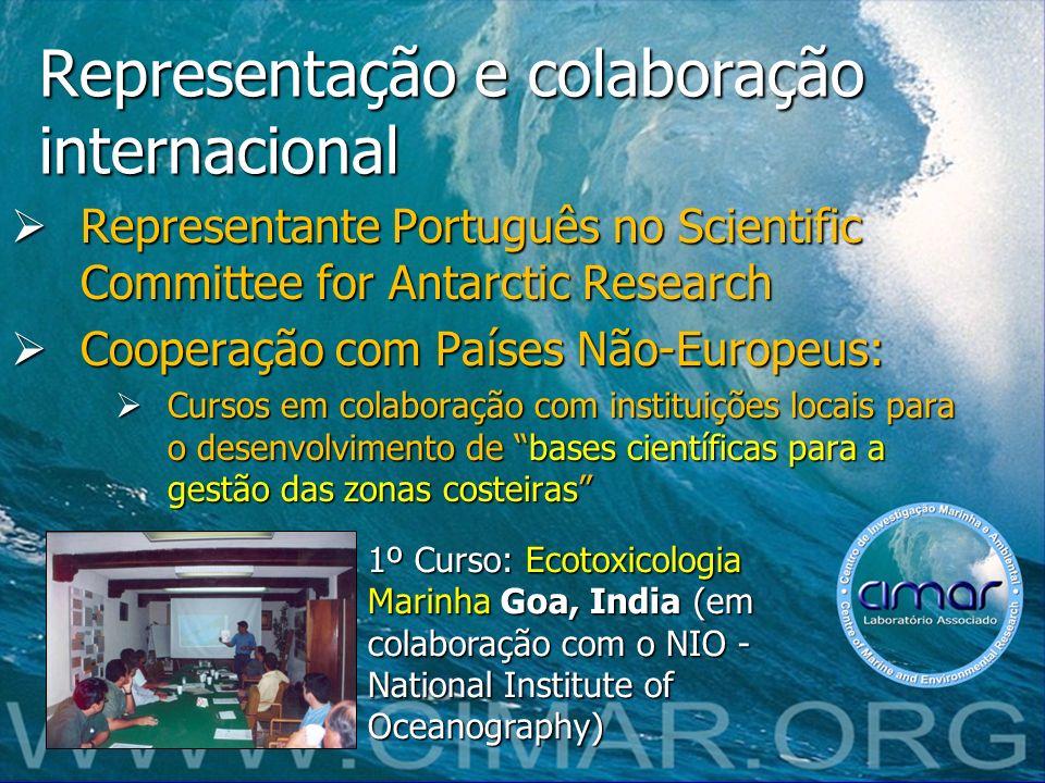 Representação e colaboração internacional