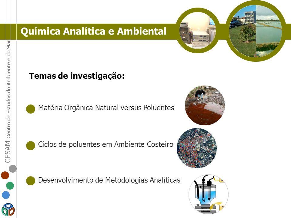 Química Analítica e Ambiental