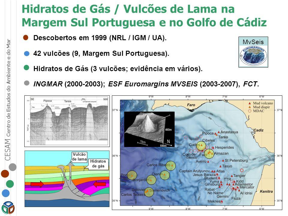 Hidratos de Gás / Vulcões de Lama na Margem Sul Portuguesa e no Golfo de Cádiz
