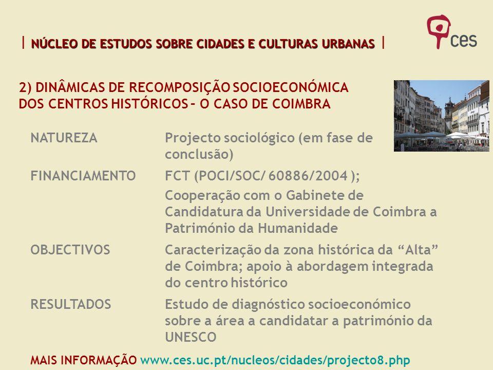 2) DINÂMICAS DE RECOMPOSIÇÃO SOCIOECONÓMICA