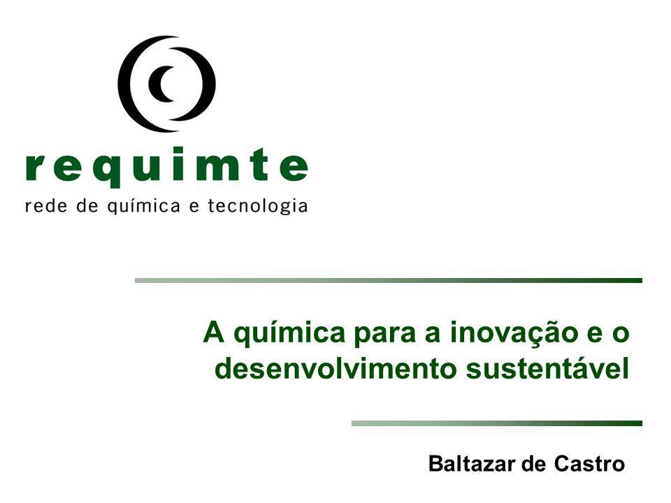A química para a inovação e o desenvolvimento sustentável