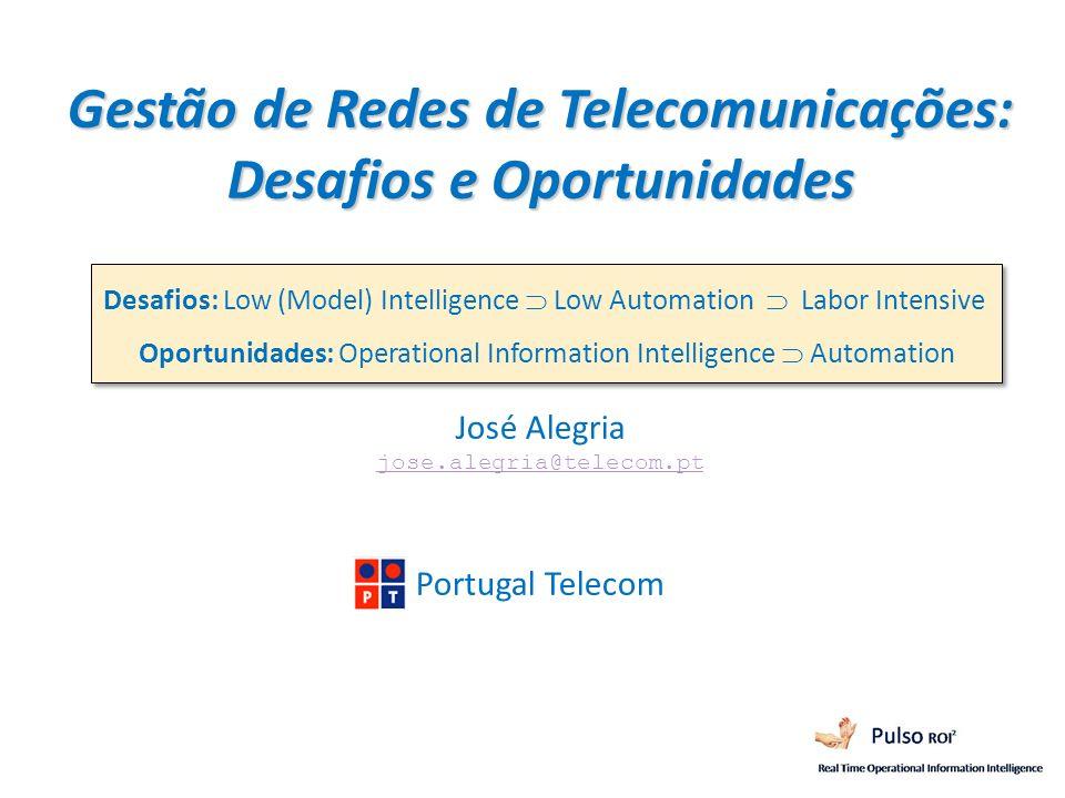 Gestão de Redes de Telecomunicações: Desafios e Oportunidades