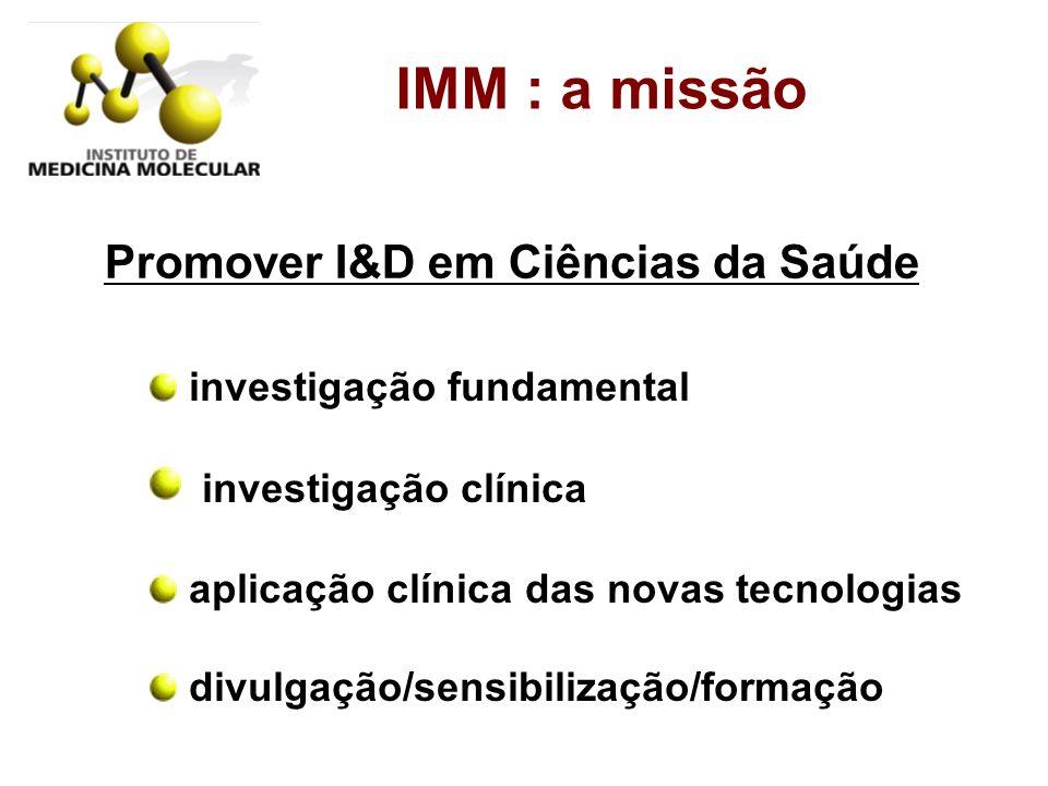 Promover I&D em Ciências da Saúde