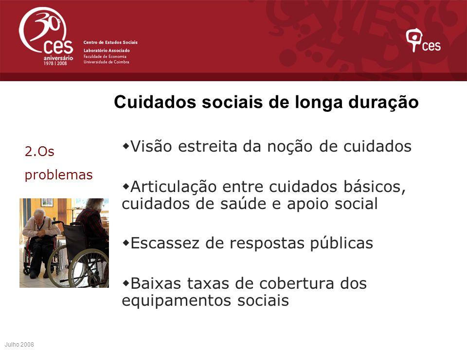 Cuidados sociais de longa duração
