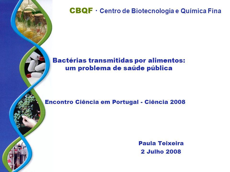Bactérias transmitidas por alimentos: um problema de saúde pública