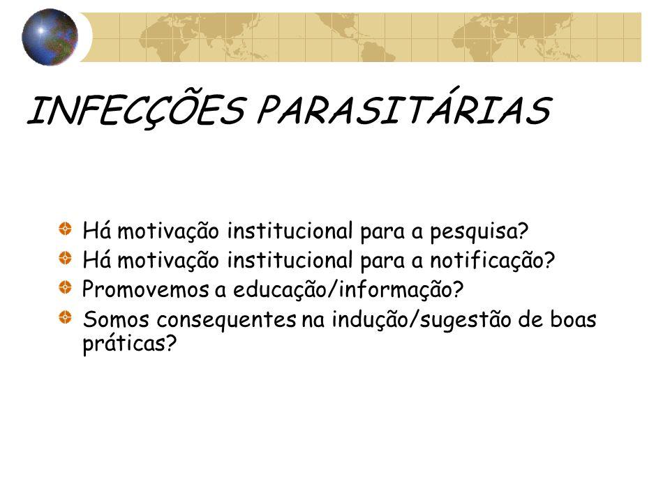 INFECÇÕES PARASITÁRIAS