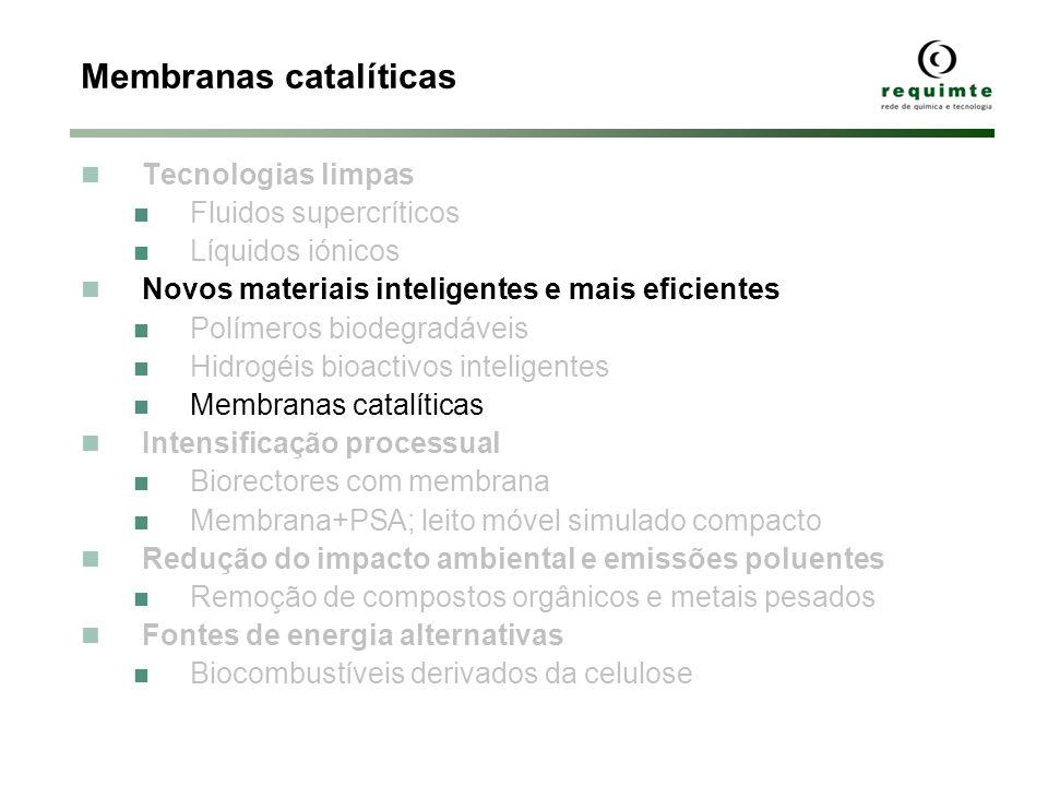 Membranas catalíticas