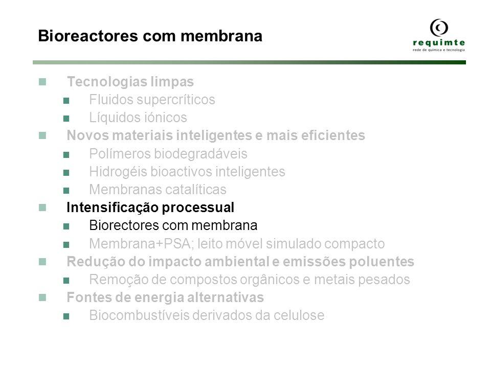 Bioreactores com membrana