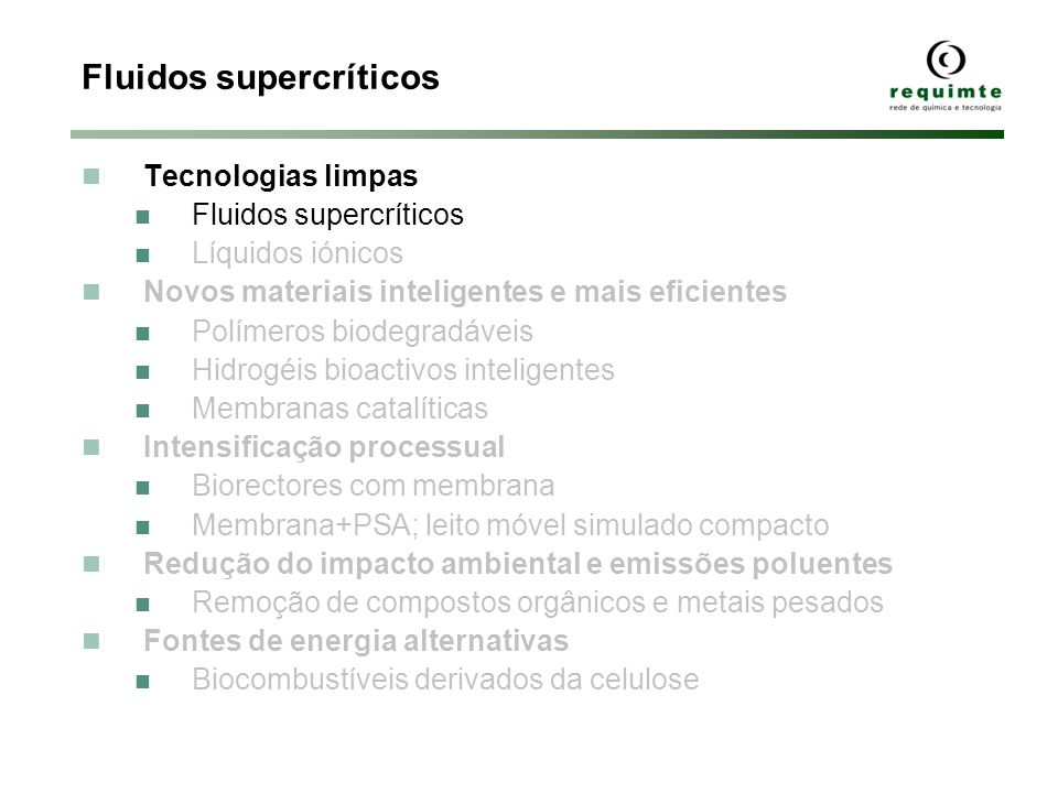 Fluidos supercríticos