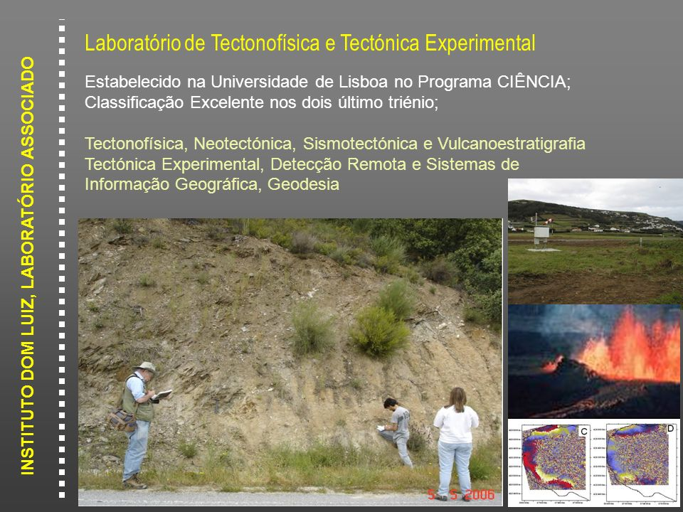 Laboratório de Tectonofísica e Tectónica Experimental