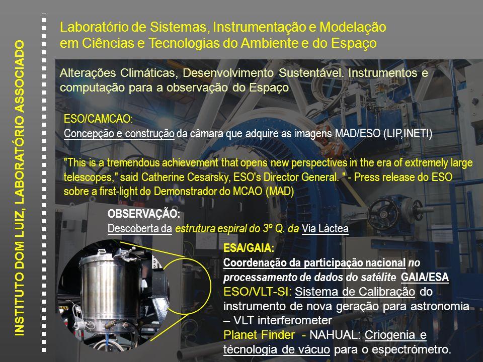 Laboratório de Sistemas, Instrumentação e Modelação