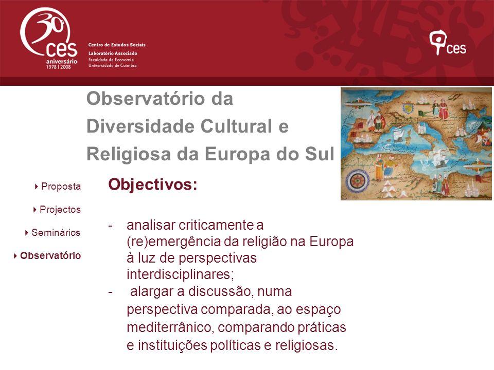 Observatório da Diversidade Cultural e Religiosa da Europa do Sul