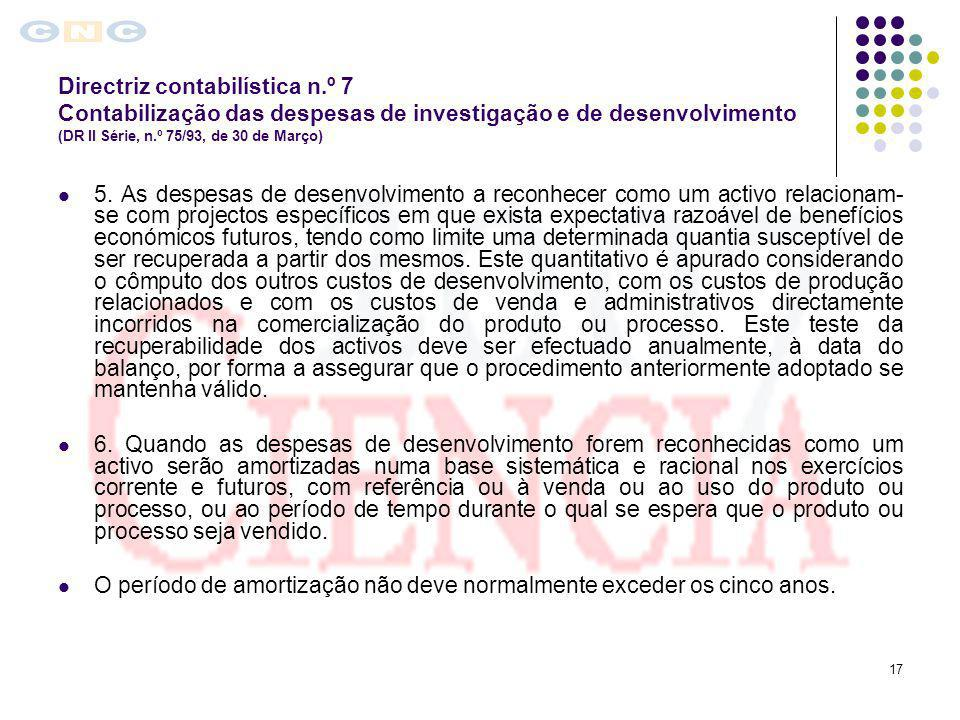 Directriz contabilística n