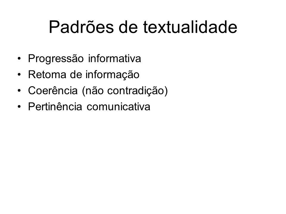 Padrões de textualidade