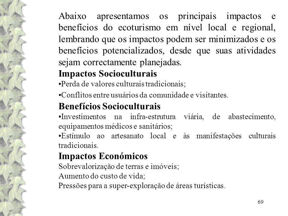Impactos Socioculturais