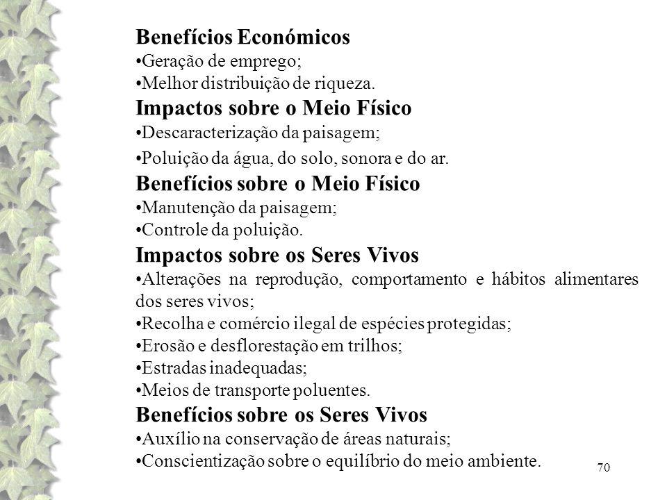 Benefícios Económicos
