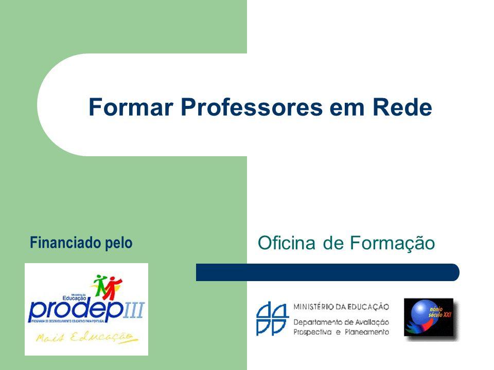Formar Professores em Rede