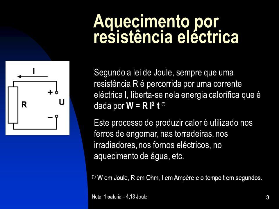 Aquecimento por resistência eléctrica
