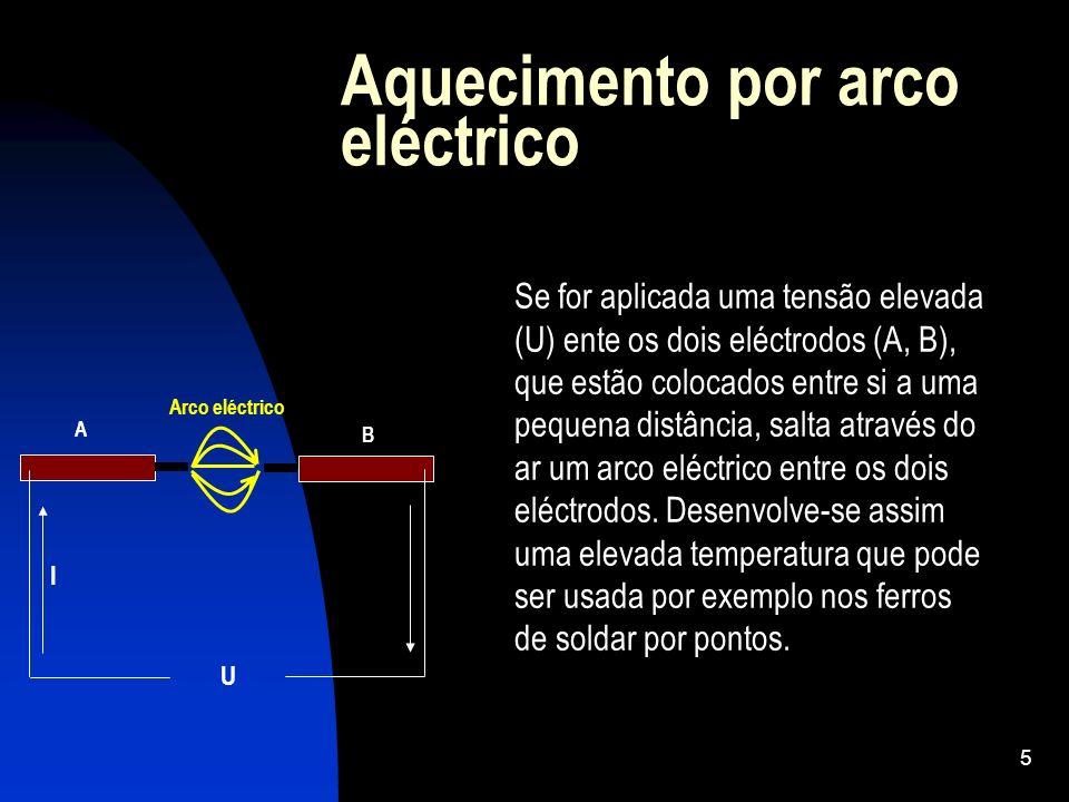 Aquecimento por arco eléctrico
