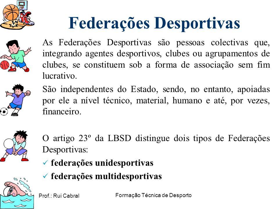 Federações Desportivas