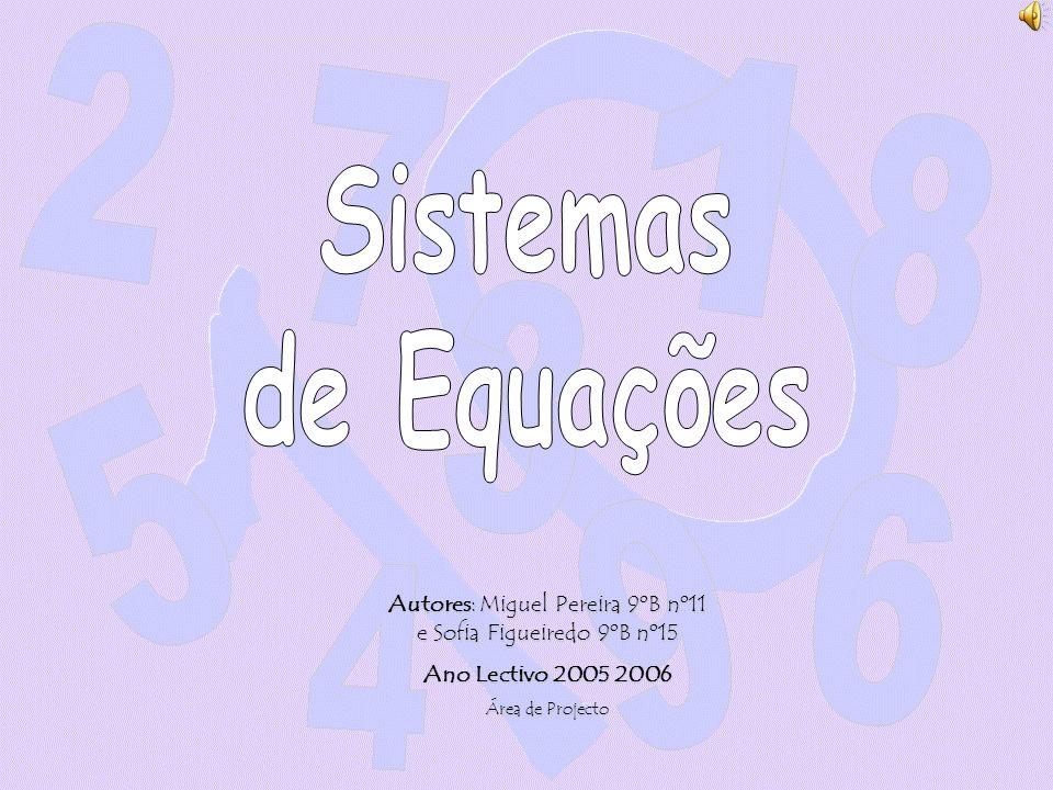 Autores: Miguel Pereira 9ºB nº11 e Sofia Figueiredo 9ºB nº15