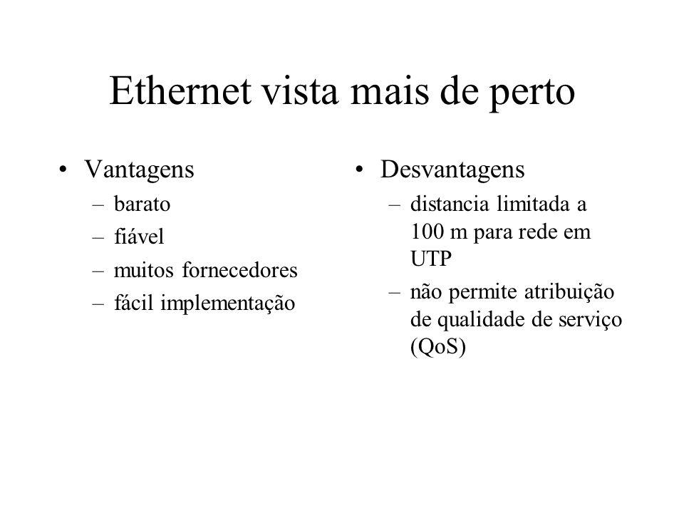 Ethernet vista mais de perto