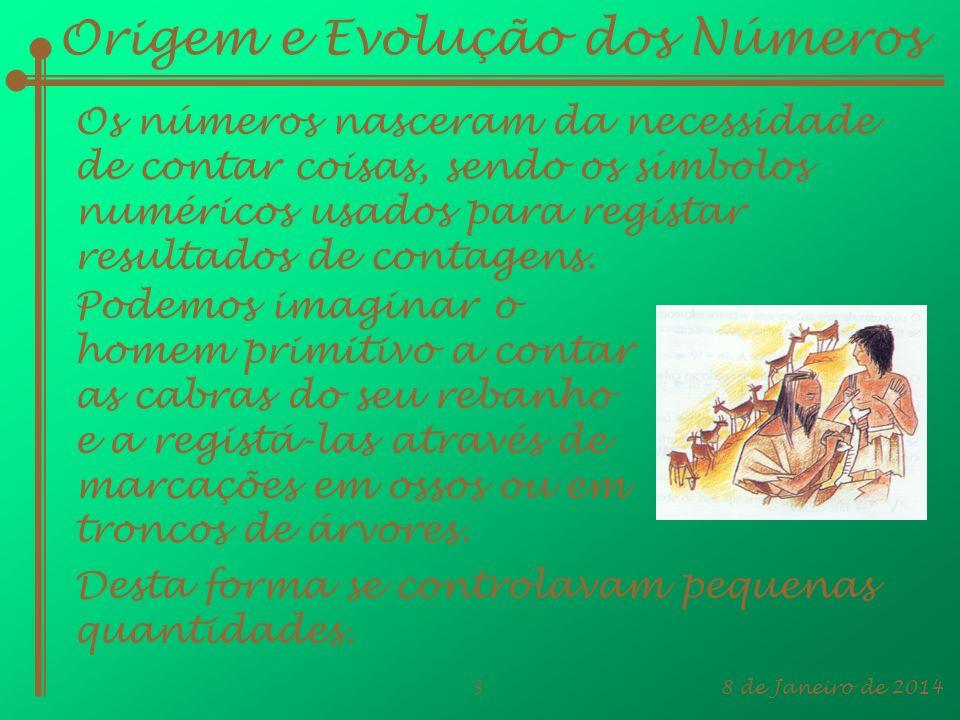 Origem e Evolução dos Números