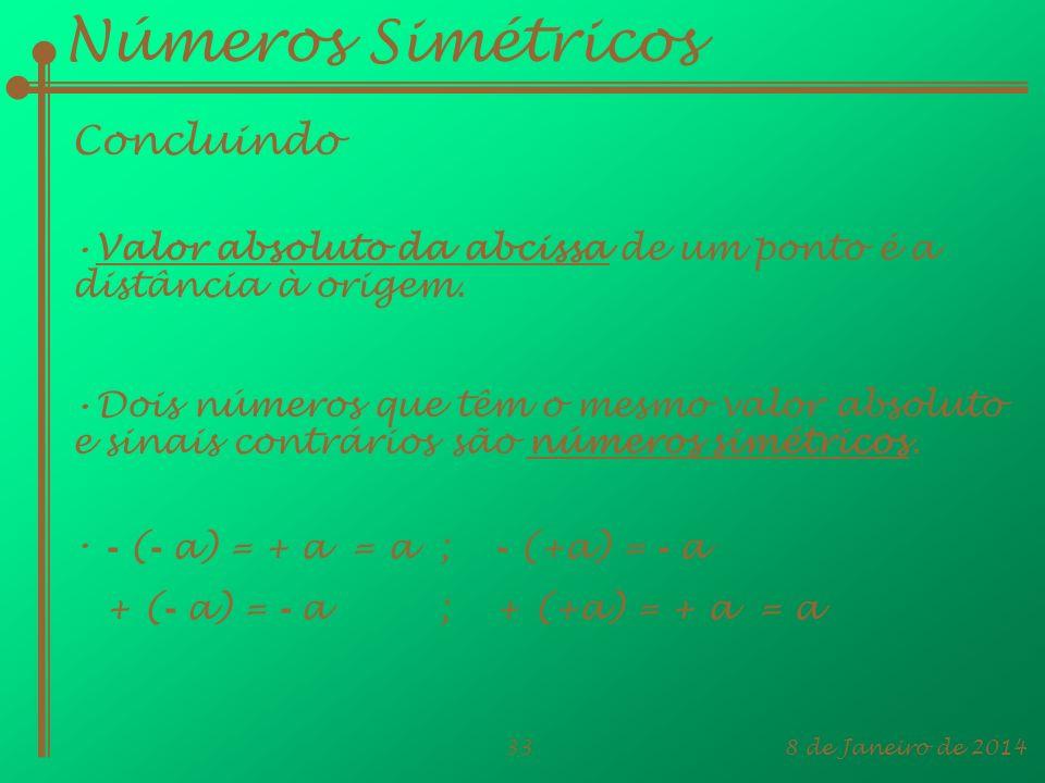 Números Simétricos Concluindo