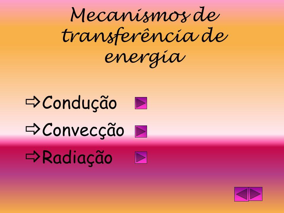 Mecanismos de transferência de energia