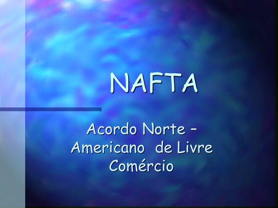 Acordo Norte – Americano de Livre Comércio