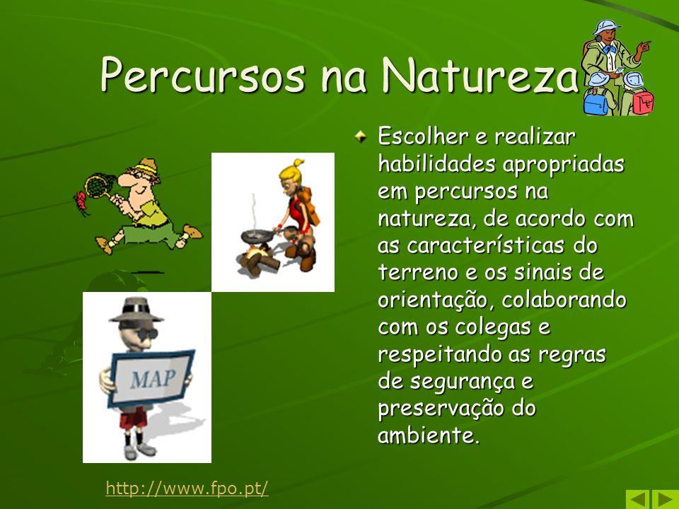 Percursos na Natureza