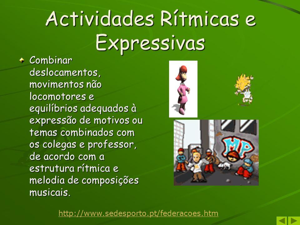 Actividades Rítmicas e Expressivas