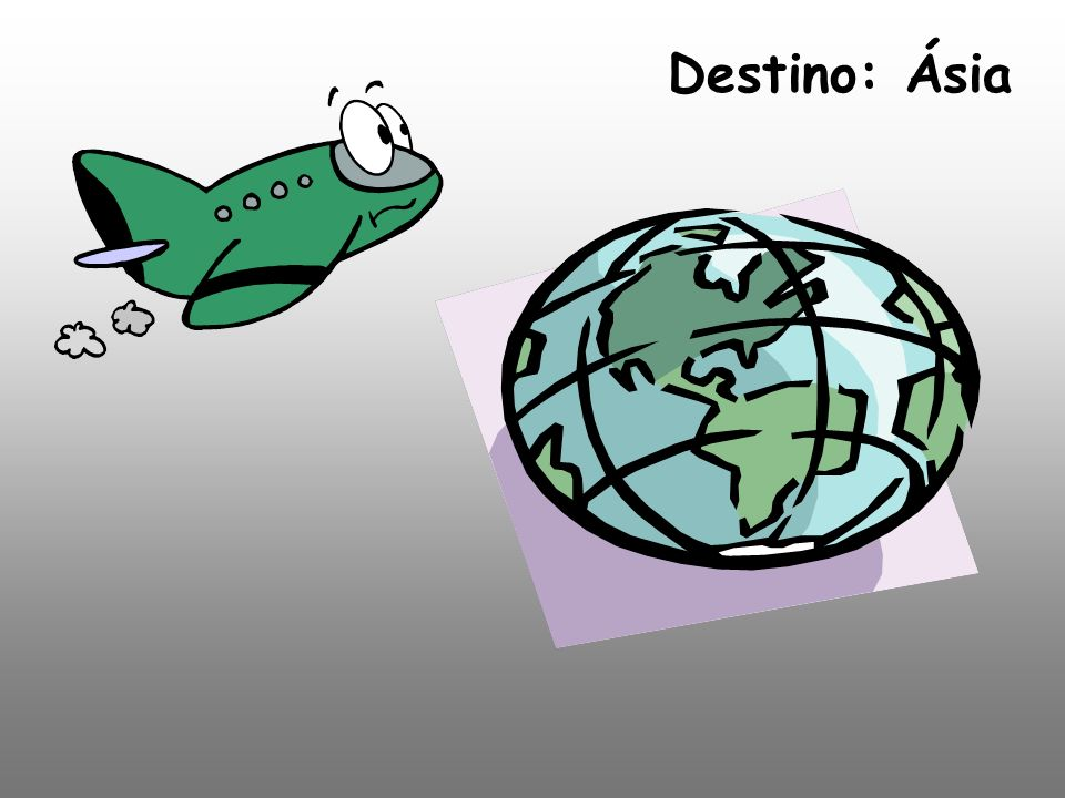Destino: Ásia