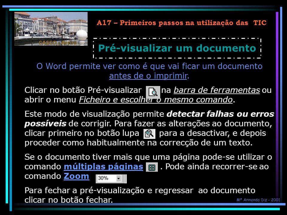 Pré-visualizar um documento