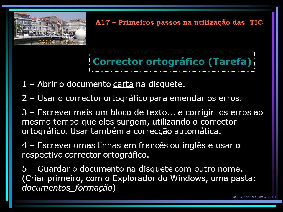 Corrector ortográfico (Tarefa)