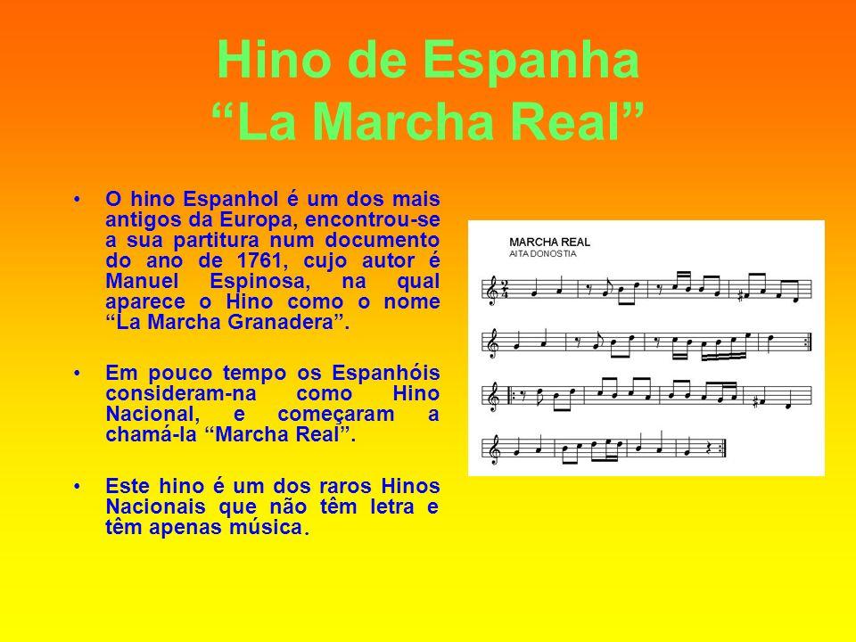 Hino de Espanha La Marcha Real