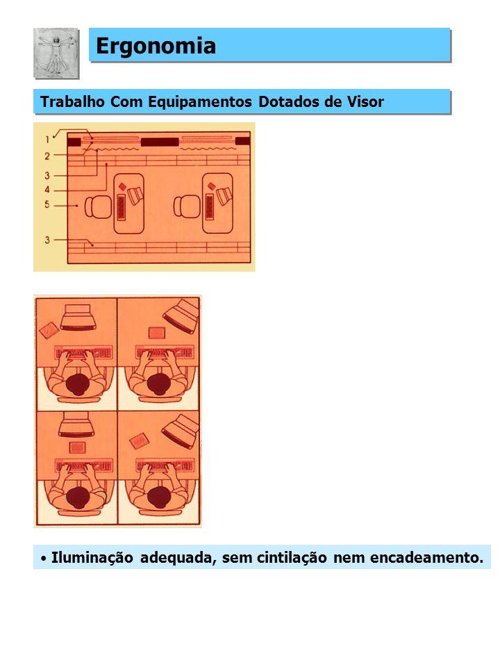 Ergonomia Trabalho Com Equipamentos Dotados de Visor