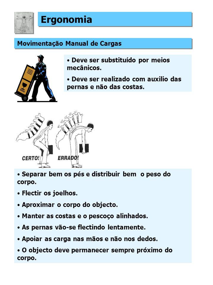 Ergonomia Movimentação Manual de Cargas