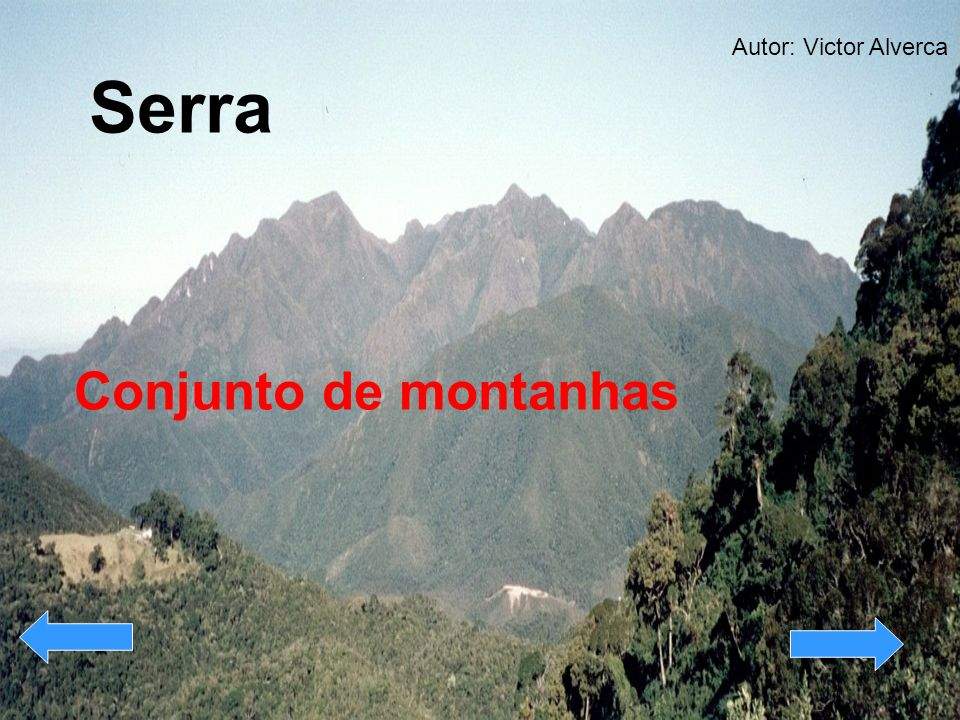 Autor: Victor Alverca Serra Conjunto de montanhas