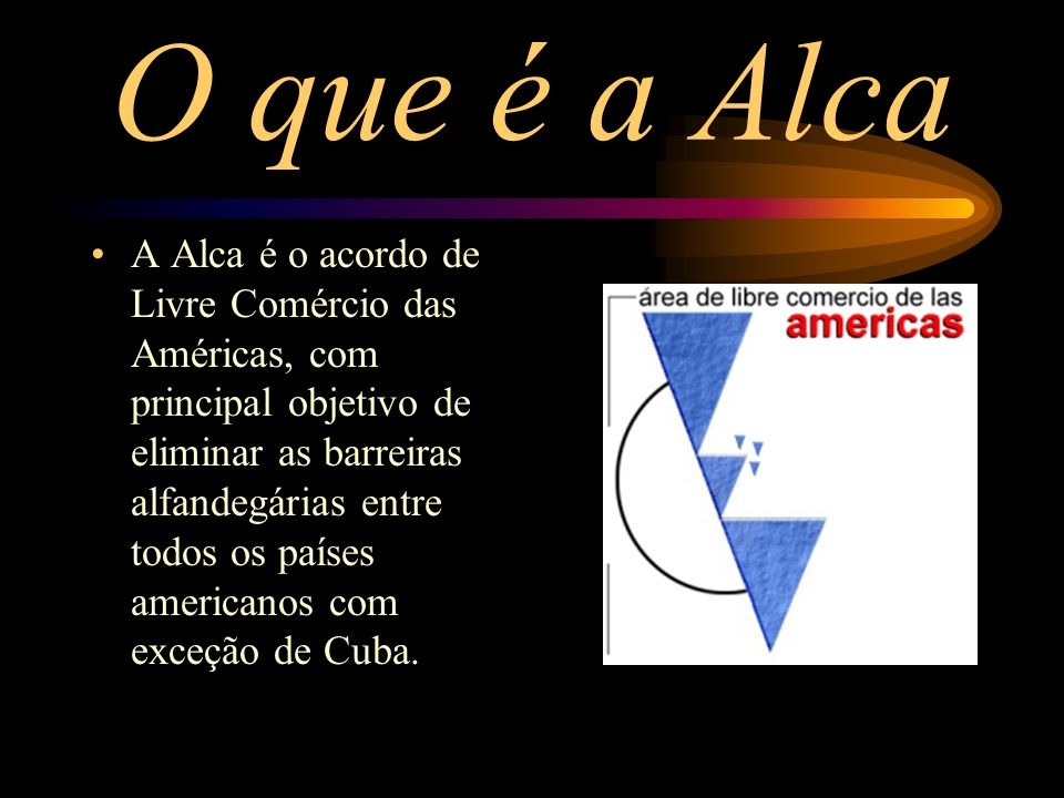 O que é a Alca