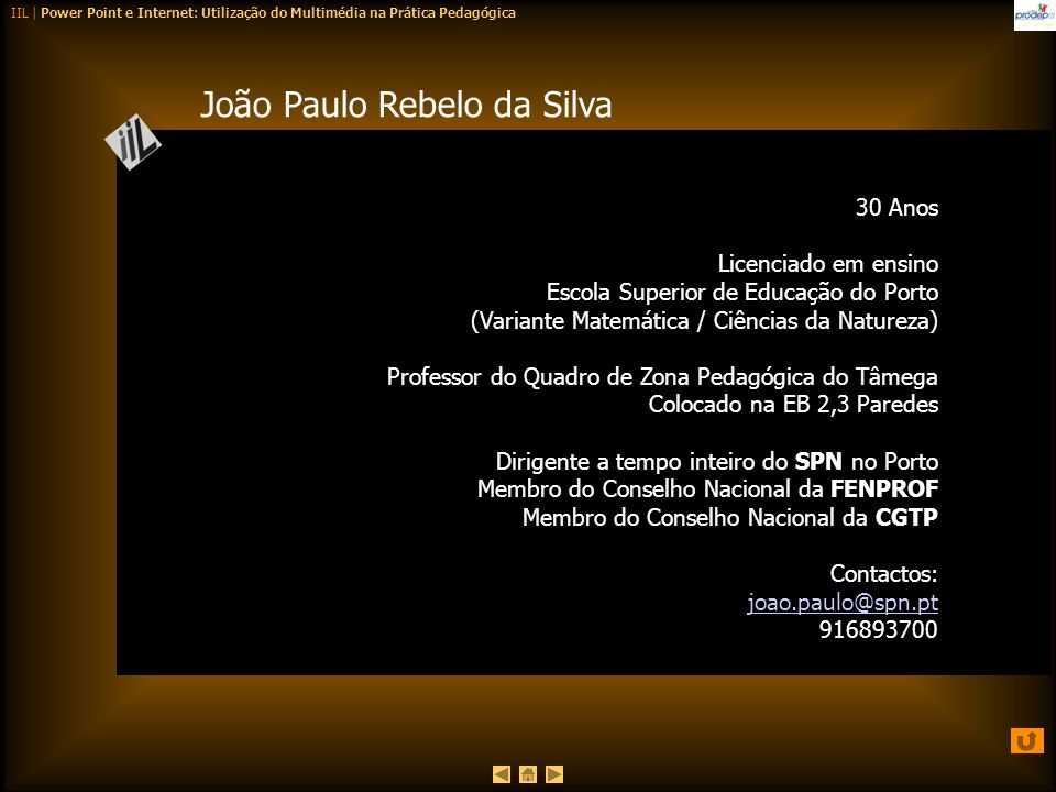 João Paulo Rebelo da Silva