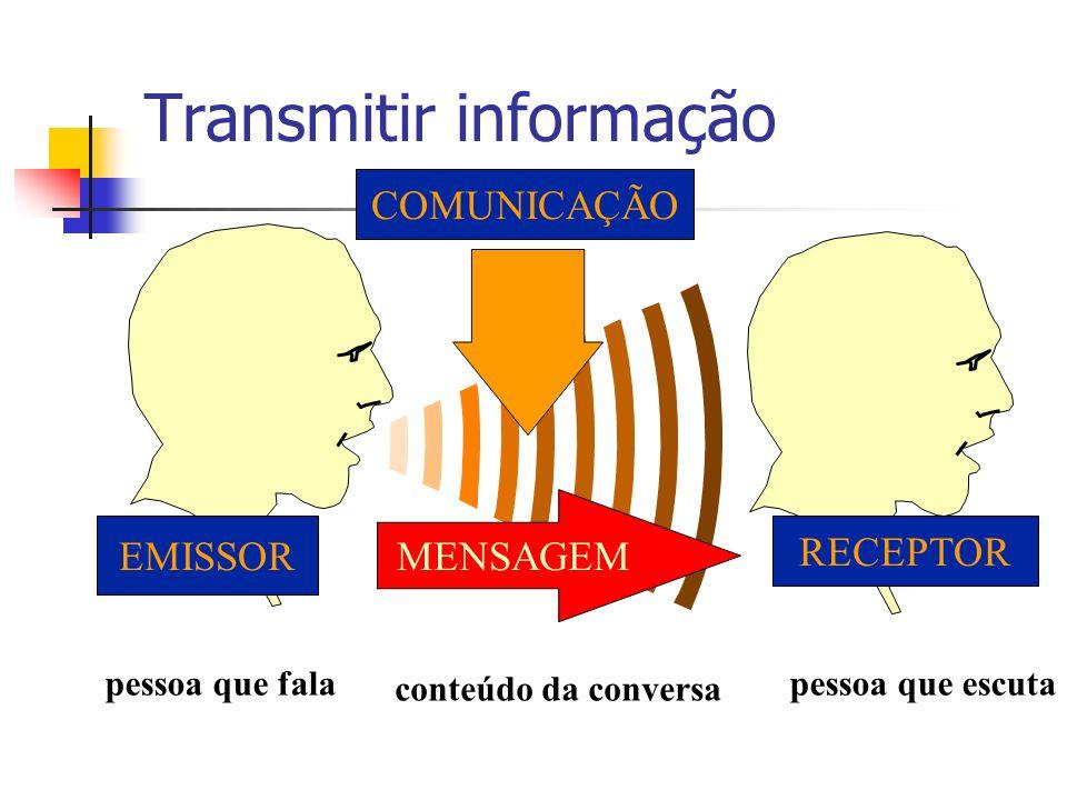 Transmitir informação