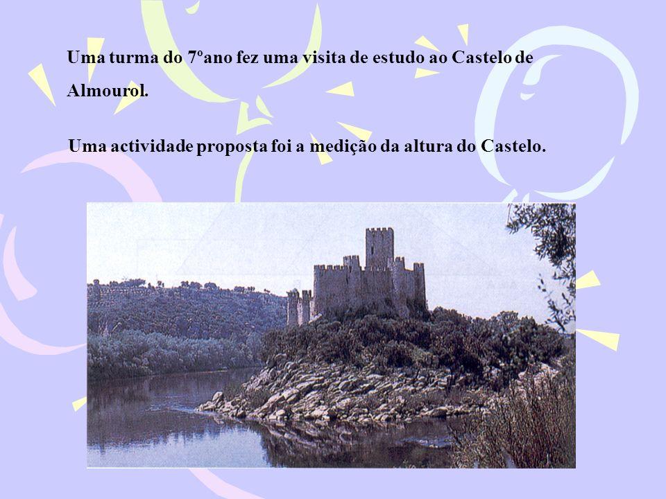 Uma turma do 7ºano fez uma visita de estudo ao Castelo de Almourol.