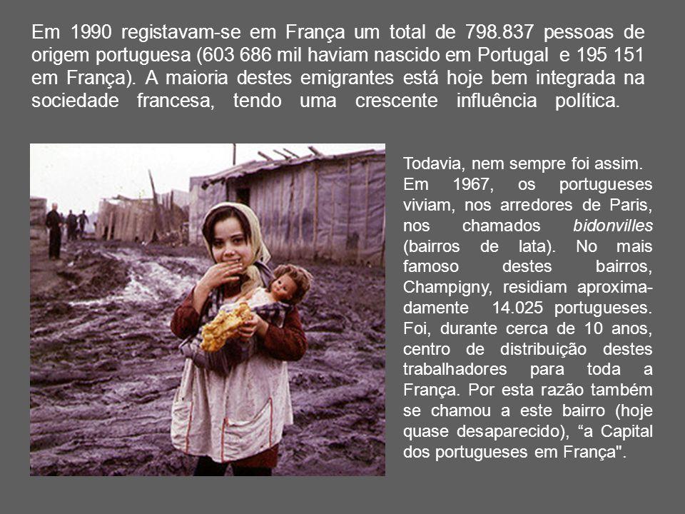 Em 1990 registavam-se em França um total de 798