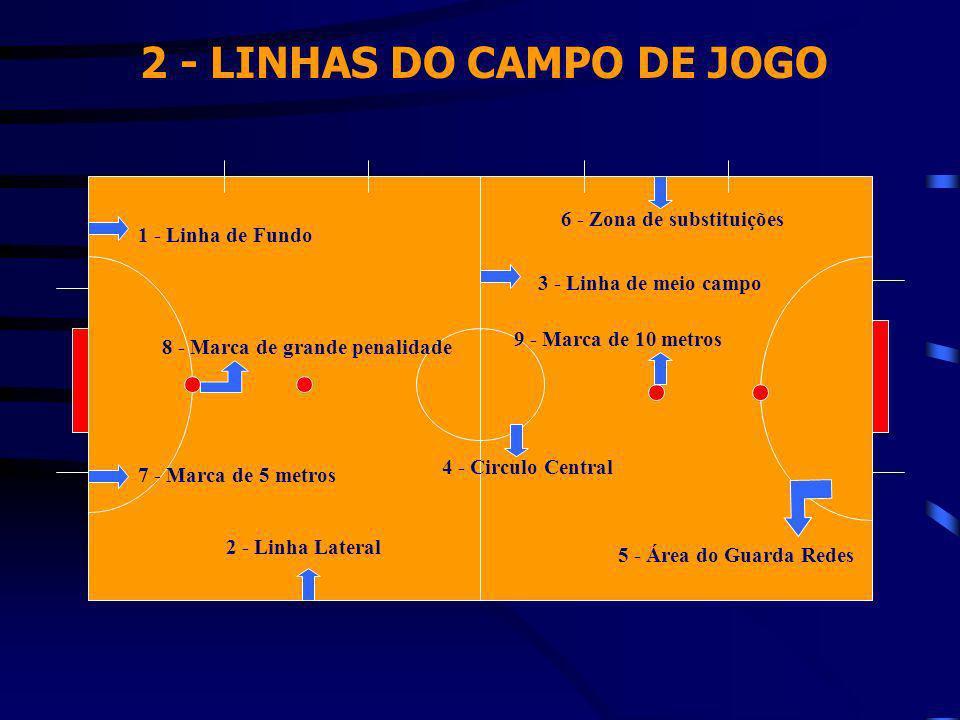 2 - LINHAS DO CAMPO DE JOGO