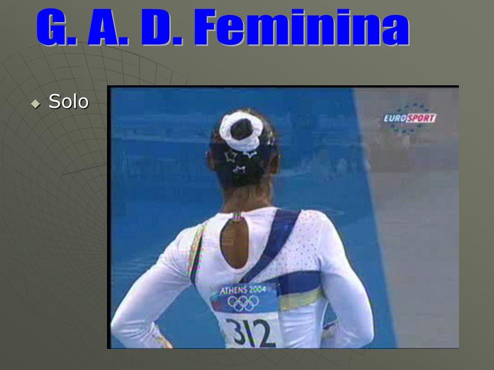 G. A. D. Feminina Solo