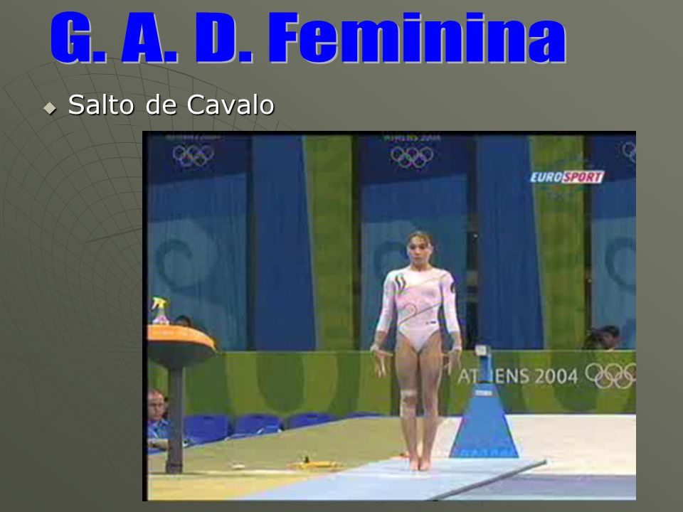 G. A. D. Feminina Salto de Cavalo