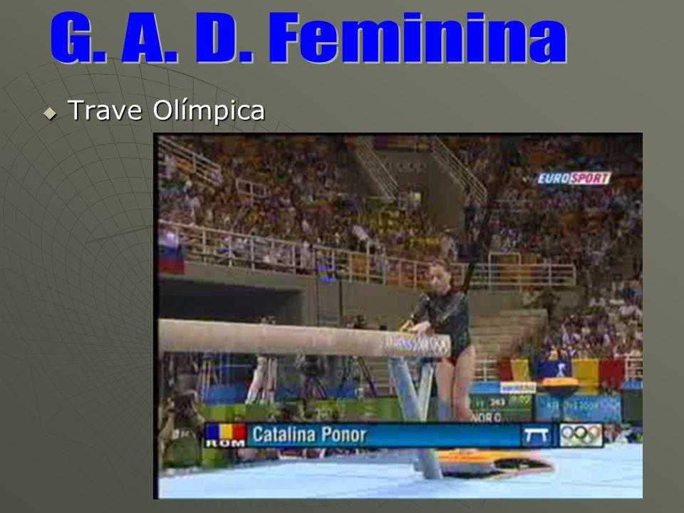 G. A. D. Feminina Trave Olímpica